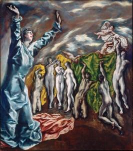 Ein Buch mit sieben Siegeln - © El Greco, Wikipedia