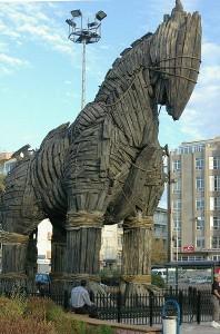 Einen vom Pferd erzählen - © Ross Burgess, Wikipedia